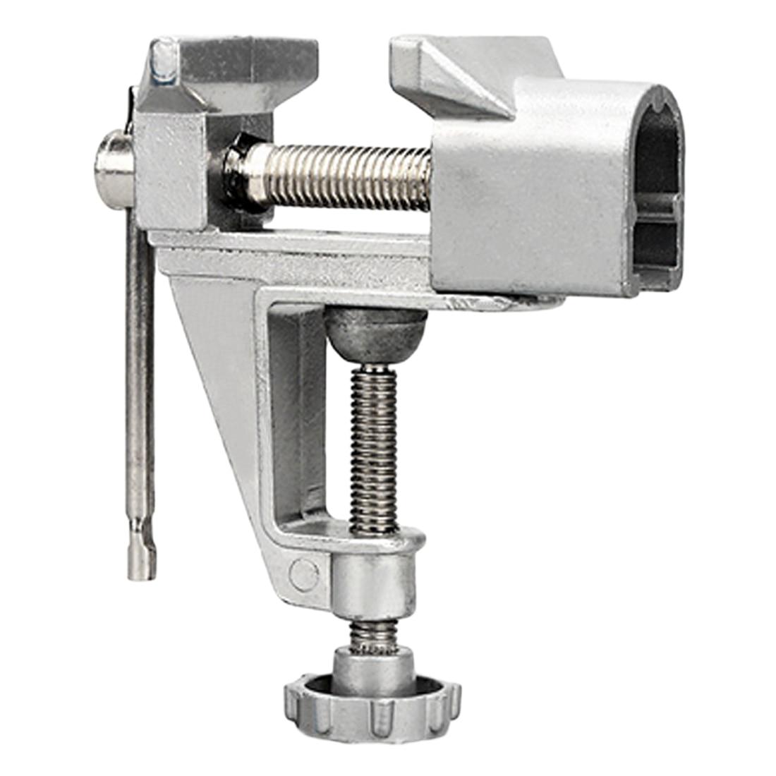 Tornillo de banco Universal de aleación de aluminio de 30mm, tornillo de mesa, tornillo de banco de sargento de banco, tornillo de banco para DIY, herramienta de reparación fija de moldes artesanales