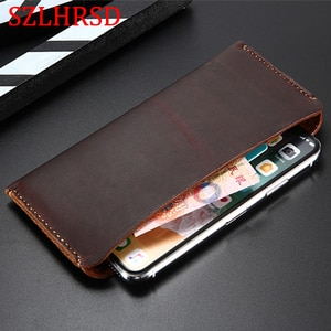 SZLHRSD Genuine Leather Wallet Case For Honor 7s Cases bag for Huawei nova 5i Pro nova 3i Honor 8S 8A Pro 7c 8X Max Play 8A