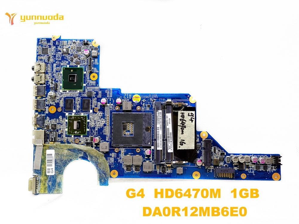 اللوحة الأم الأصلية للكمبيوتر الدفتري HP G4 HD6470M ، 1 جيجابايت DA0R12MB6E0 ، اختبار جيد ، شحن مجاني