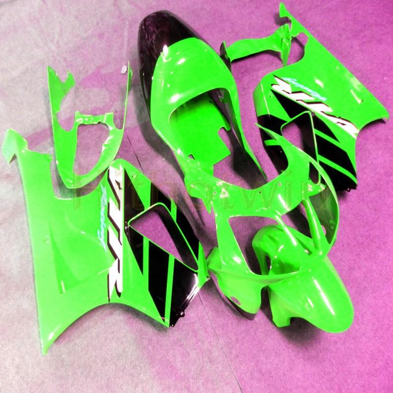 Cubierta de motocicleta personalizada para VTR 1000 SP1 2000-2006 RC51 00 01 02 03 04 05 06 carenados de plástico ABS + tornillos + verde