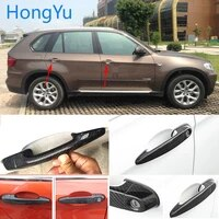 for bmw x5 e70 xdrive 30i 48i 35d 35i 50i 40d m50d 2008 2013 100 real carbon fiber auto outer door handle cover