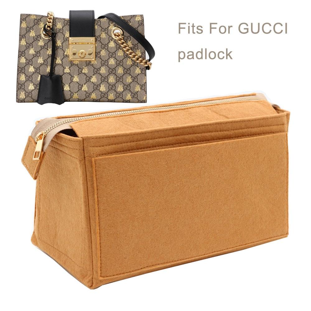 Подходит для двойной G висячей вставки сумки Органайзер для макияжа сумочка для путешествий Внутренний кошелек Портативная Косметическая ...