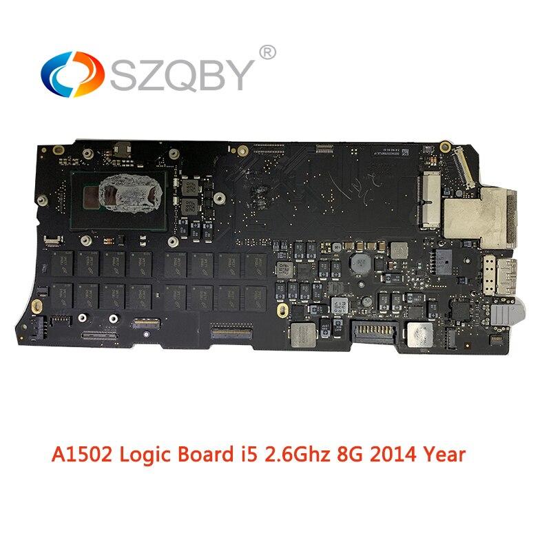 Материнская плата для ноутбука A1502 для MacBook Pro Retina 13 логическая плата EMC 2875 2,6 GHZ 8G i5 Mid 2014 года