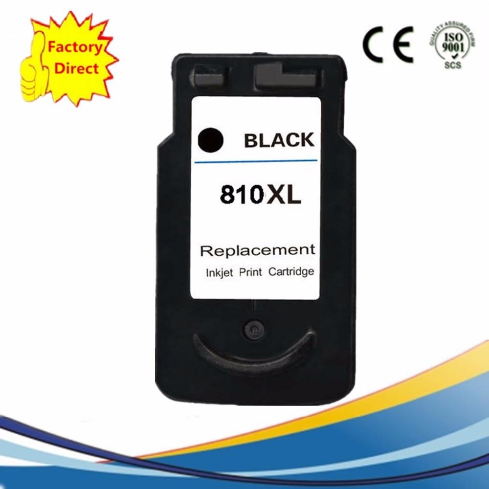 1 Pk PG-810 XL PG 810 PG810 tinta cartuchos Pixma MX338 MX347 MX357 MX366 MX426 MP237 MX416 IP 2770 2772