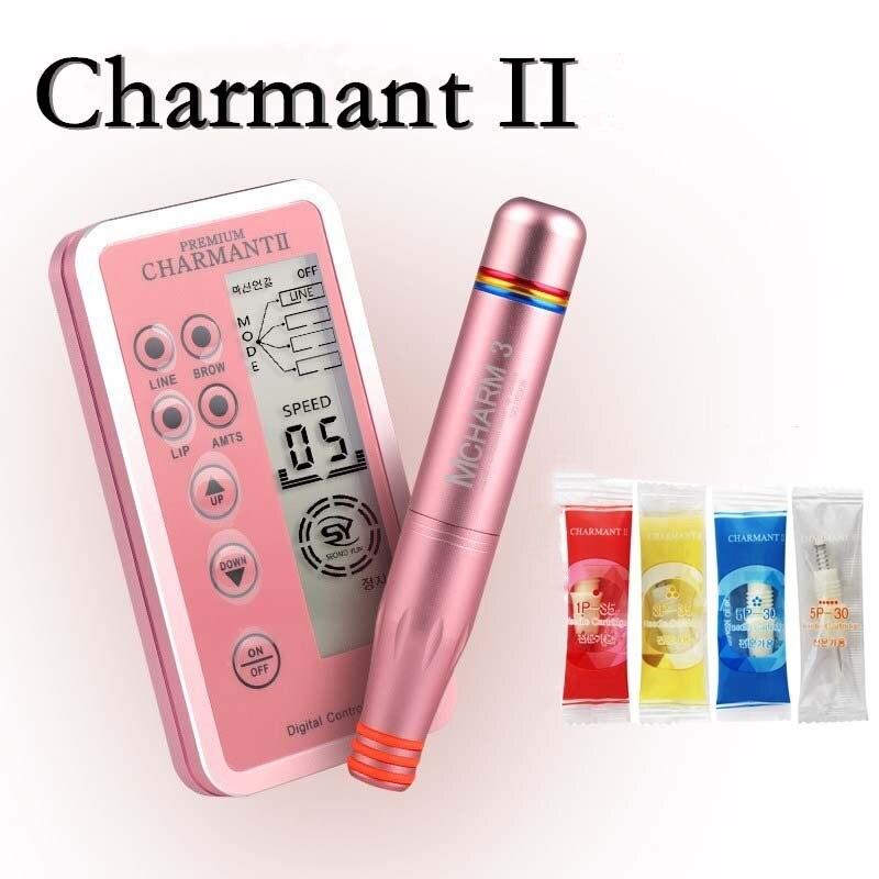 Máquina superior Digital de pluma de maquillaje permanente Charme Princesse, Panel de Control inteligente, potencia de cartucho de interfaz espiral
