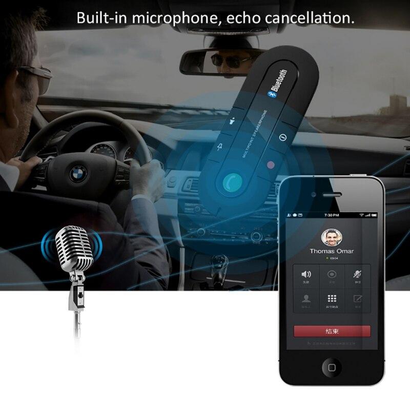 Portable Bluetooth Wireless Handsfree Car Kit Speaker Wireless Bluetooth Speaker Mini Mobile Phone MP3 Music Player enlarge