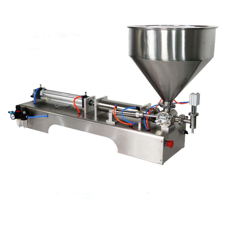 Machine de remplissage pneumatique horizontale automatique G1WY de pâte de remplissage de Piston pneumatique à tête unique Quantitative automatique