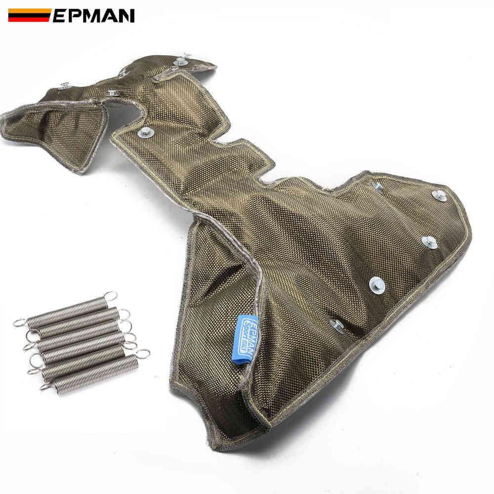 EPMAN Гонки титана турбо одеяло теплозащитный чехол высокая производительность для K03 / K04 турбо зарядное устройство EPTBTK04TI