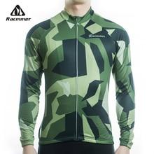 Racmmer 2020 hommes à manches longues cyclisme maillots vtt cyclisme vêtements vélo Maillot Ciclismo Sportwear vélo vêtements # CX-30
