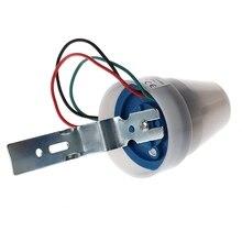 AC 220-240V 10A al aire libre IP44 interruptor fotoeléctrico automático del Sensor del Control de la luz para el interruptor