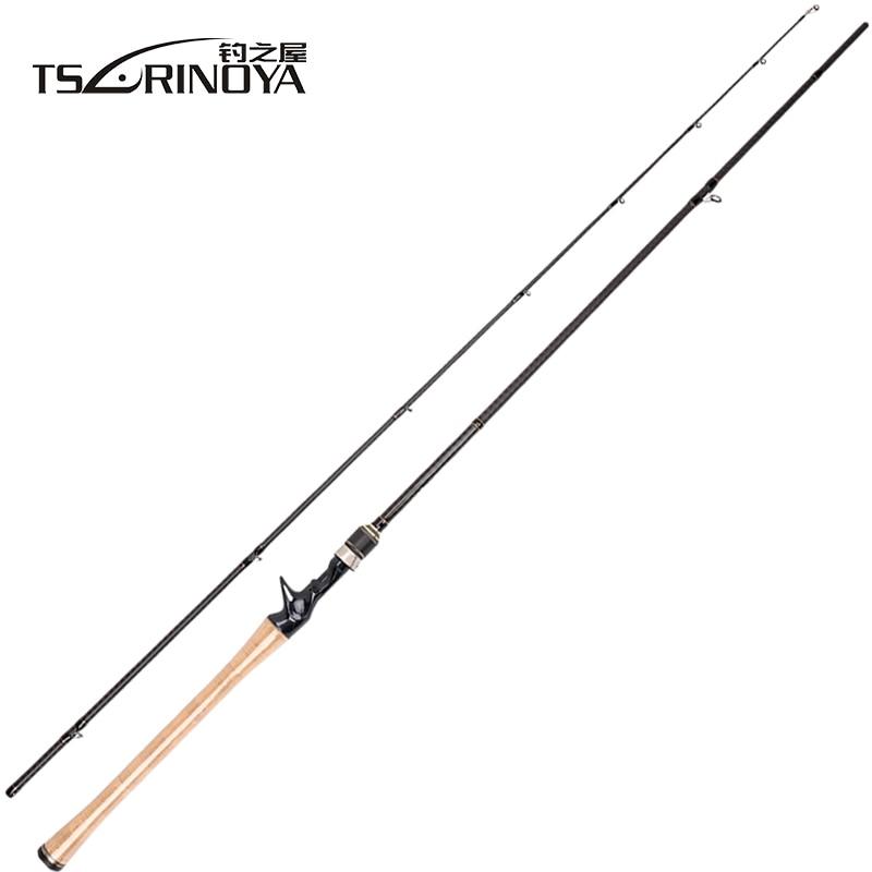 TSURINOYA PROFLEX II 1,89 m 1,95 m 2,13 m De Pesca Rod 2 Sec Pesca Polo Canne un Peche Vara De Para Pesca De la carpa De pescado