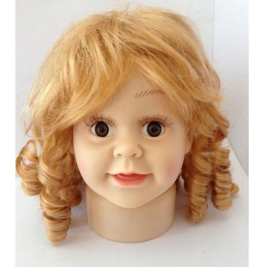 ¡Envío gratis! Maniquí de cabeza de niño de estilo moderno, cabeza de Maniquí de plástico a la venta