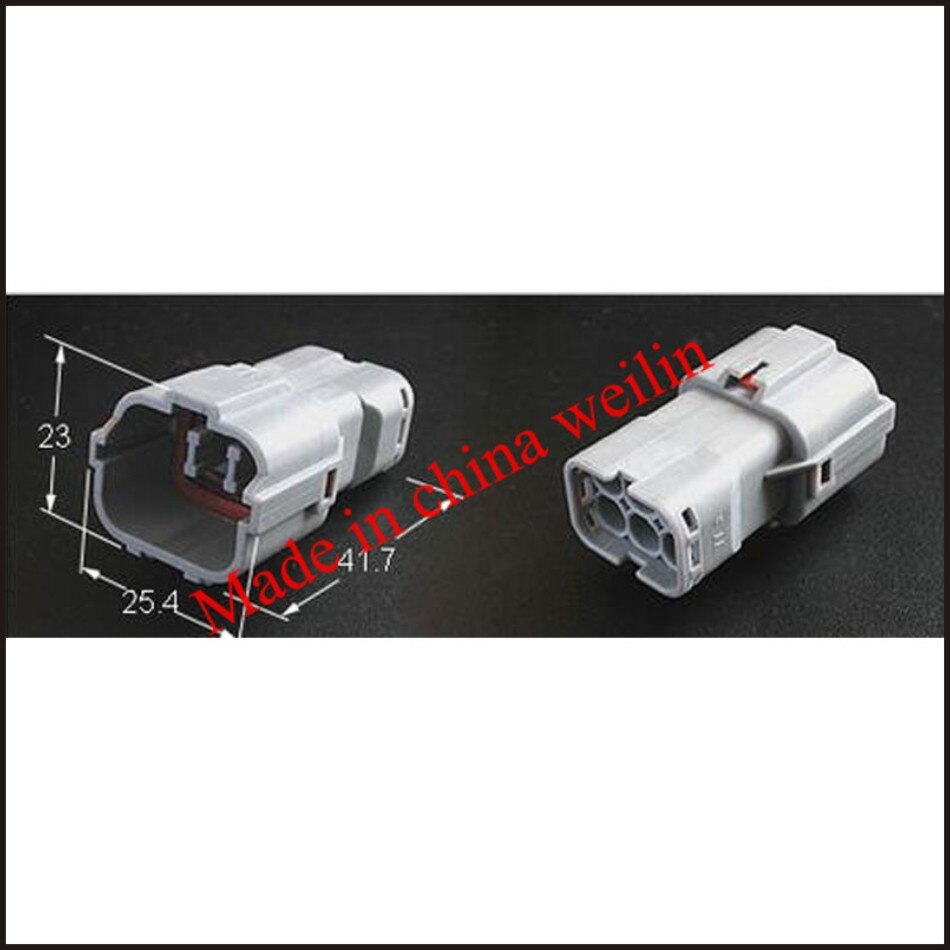 Envío Gratis MG640337 conector macho Terminal hembra conector 4P caja de fusibles PA66 MG610331 MG610335 MG610320