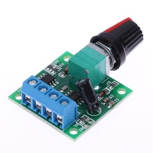DC 1.8V 3V 5V 6V 12V 2A PWM Motor Speed Controller Low Voltage Motor Speed Control Switch PWM Adjustable Drive Module