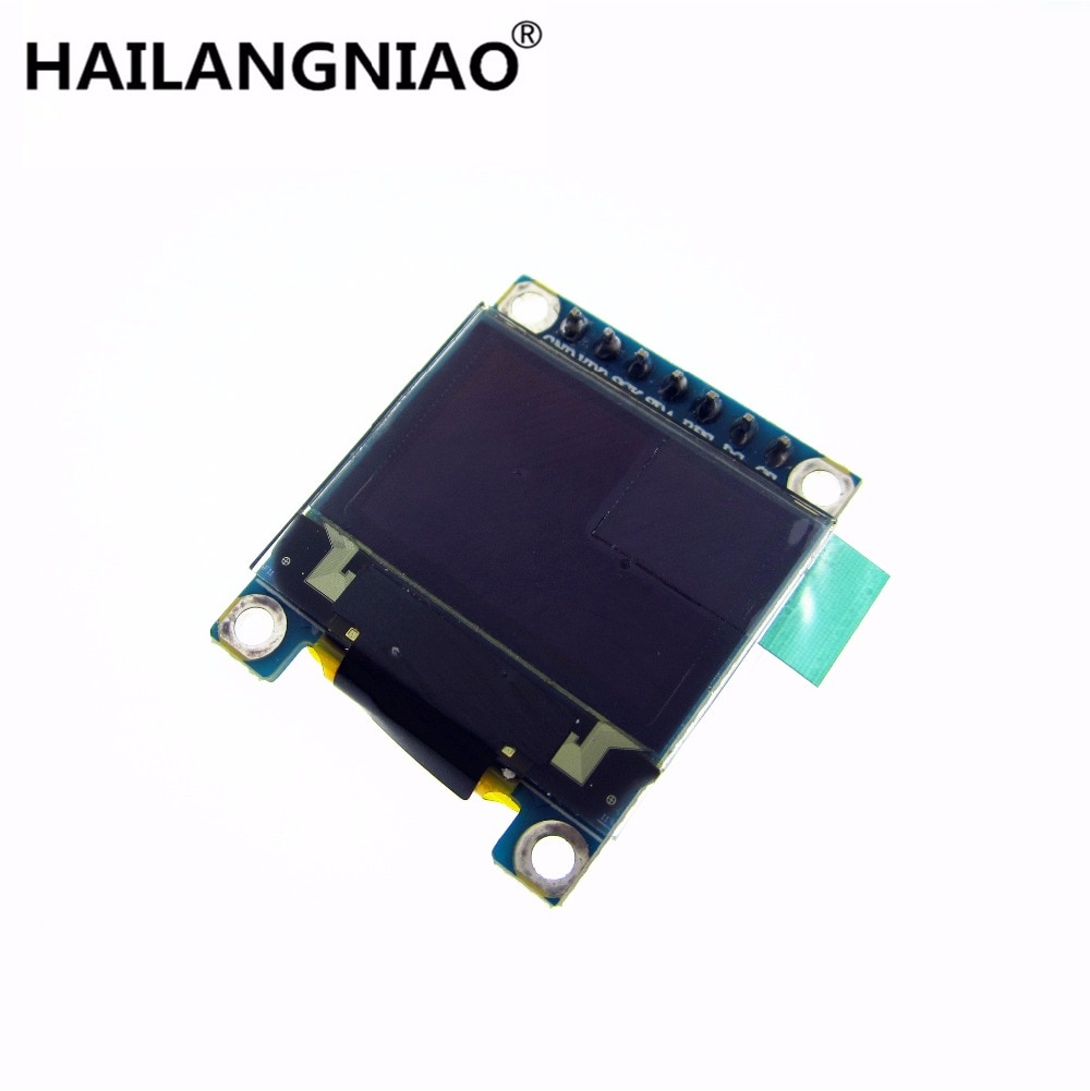 1 Uds. Pantalla OLED a todo Color SPI de 0,95 pulgadas DIY módulo 96x64 LCD SSD1306 Driver IC de alta calidad