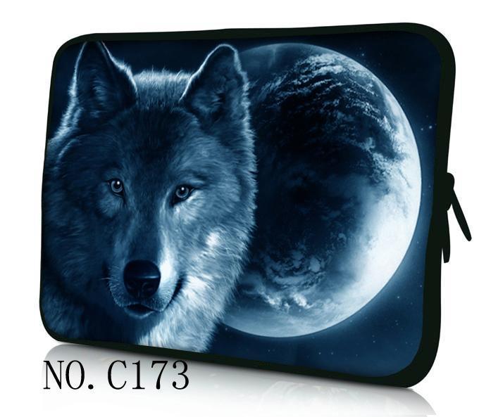 "Lobo Nova Marca Macio Portátil Universal 14 ""Laptop Bag Case Capa Luva Bolsa Para Apple/Macbook 14"" notebook para samsung laptop"