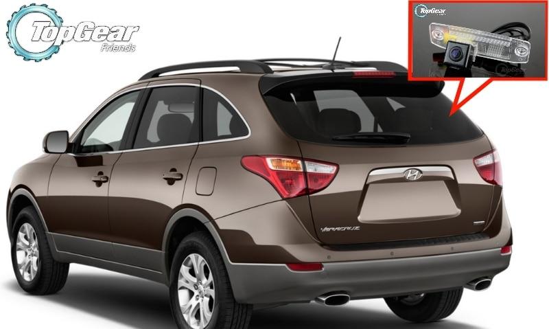 Cámara de coche para Hyundai Veracruz/ix55 2007 ~ 2014 cámara trasera de alta calidad para uso de ventiladores de engranaje superior   CCD + RCA