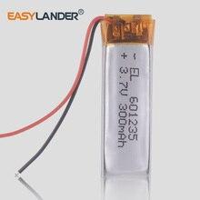 Oplaadbare Batterij 601235 Lithium Polymeer Li-Po Ion Batterijen Voor Diy Gps Psp Bluetooth Hoofdtelefoon Mp3 Palyer