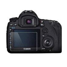 Protecteur En Verre trempé pour Canon EOS 650D 70D 700D 750D 760D 77D 80D 800D 90D Rebelles T4i T5i T6i T7i LCD Film Protecteur Décran