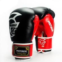 10-16OZ gros PRETORIAN paire Muay Thai PU cuir gants de boxe hommes femmes formation MMA Grant Box gants