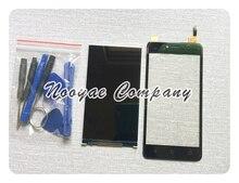 Black Sensor For BQ-5058 BQ 5058 BQs-5058 Touch Screen Digitizer Glass Panel + LCD Display Replacement + tracking