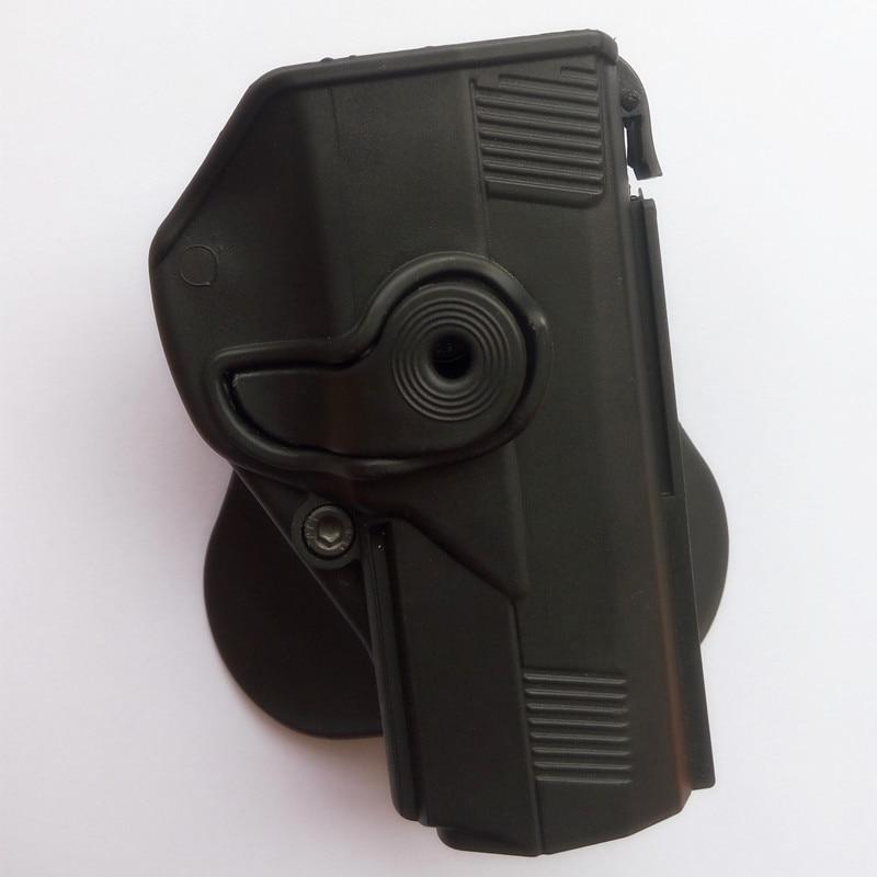Caza táctica estilo IMI bereta PX4 pistola RH Paddle Holster negro DE