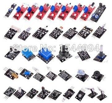 Набор сенсорных модулей для Arduino, 37 шт.