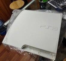 Carcasa blanca para ps3 slim carcasa completa carcasa de consola para ps3 slim con logo hecho en China OEM