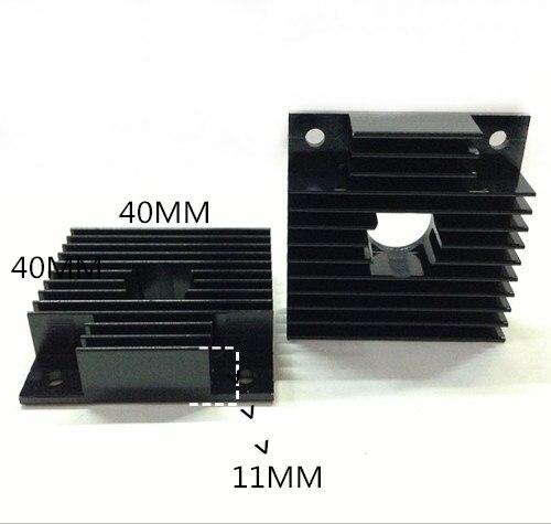 10 шт. охлаждающие 3D лазерные принтеры радиатор 40*11-40 3D лазерные принтеры радиатор