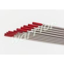 """1.6mm/2.4mm * 150mm Rode Tips WT20 2% Gethorieerde Tungsten Elektroden Voor Tig-lassen (1/16 """"3/32"""" * 6 """")"""