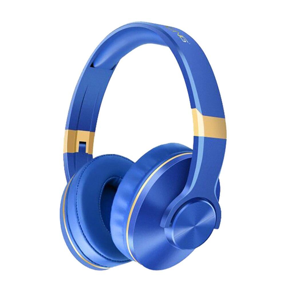Gran oferta BT808 auriculares inalámbricos de música compatibles con tarjeta TF auriculares Bluetooth para juegos PS4/PC para iPhone para Samsung