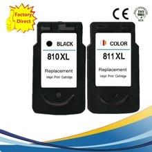 PG-810 PG 810 CL 811 XL PG810 CL811 CL-811 잉크 카트리지 Pixma IP2770 IP2772 MP245 MP258 MP268 MP276