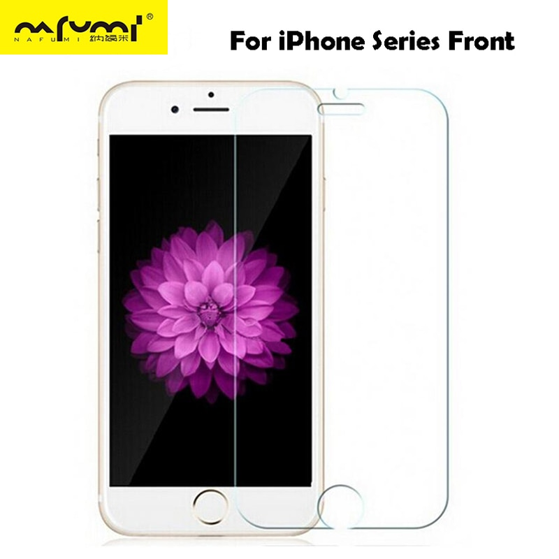 Vidrio protector para iPhone 6S 6 7 8 plus 5 s se XS max XR glass en iPhone 7 6 vidrio templado en El para iPhone se 6 7 8 plus X