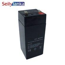 Batterie de stockage 4V 4Ah Batterie au plomb-acide adaptée à léchelle électronique jouet voiture pour enfants lampe LED Rechargeable scellée
