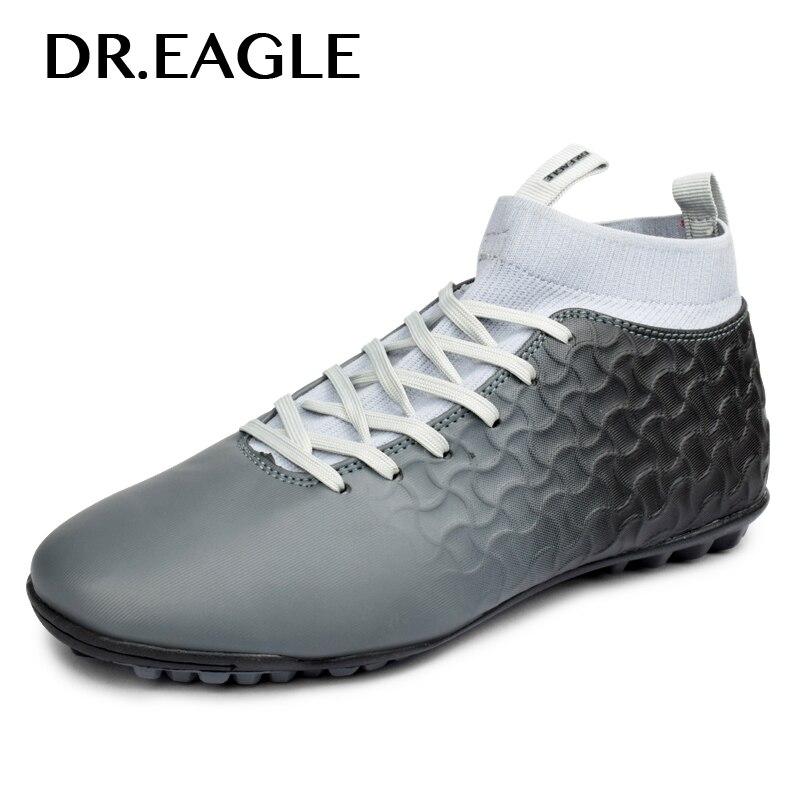 DR.EAGLE комнатные футбольные ботинки 2018 кроссовки дерн дешевые красовки лодыжки