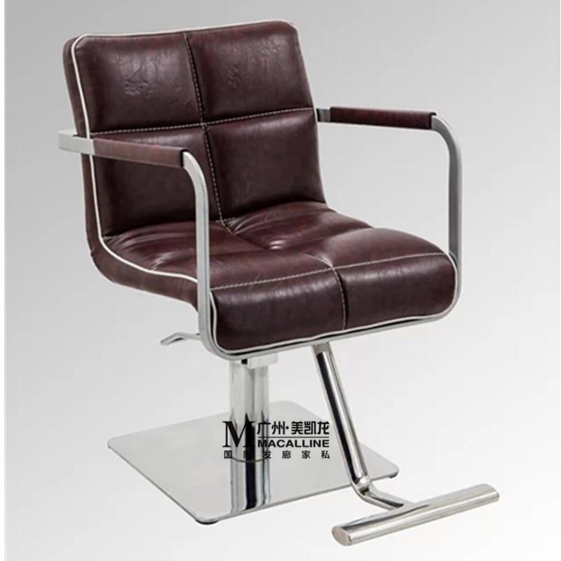 Производители продают новые роскошные стулья в европейском стиле. Парикмахерский стул для парикмахерских салонов. Стул для стрижки волос. ...
