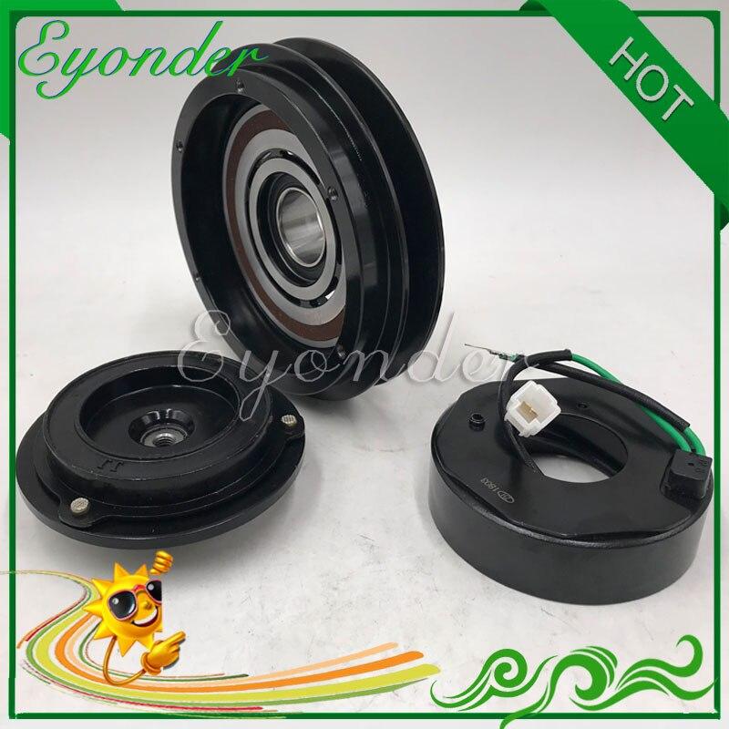 Embrague magnético de compresor de aire acondicionado AC A/C para excavadora Komatsu PC200-6 447300-1440 20Y9793110 20Y-979-3110 4473001440