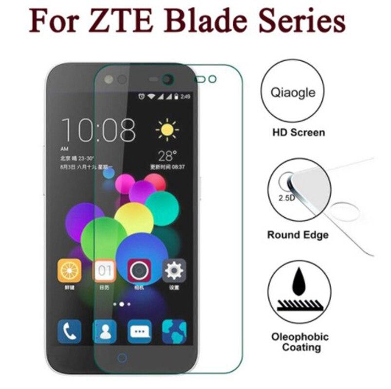 2PCS Screen Protector mobile phone For ZTE Blade A4 A530 V9 Vita  GF3 A6 Lite L5 Plus A510 A520 Temp