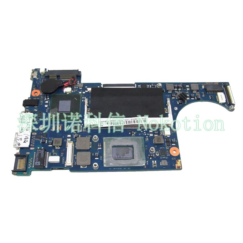 NOKOTION BA41-02021A Laptop Motherboard Para Samsung NP530U3C NP535U3C Ultrabook I5-3317U CPU onboard DDR3 placa Principal teste completo