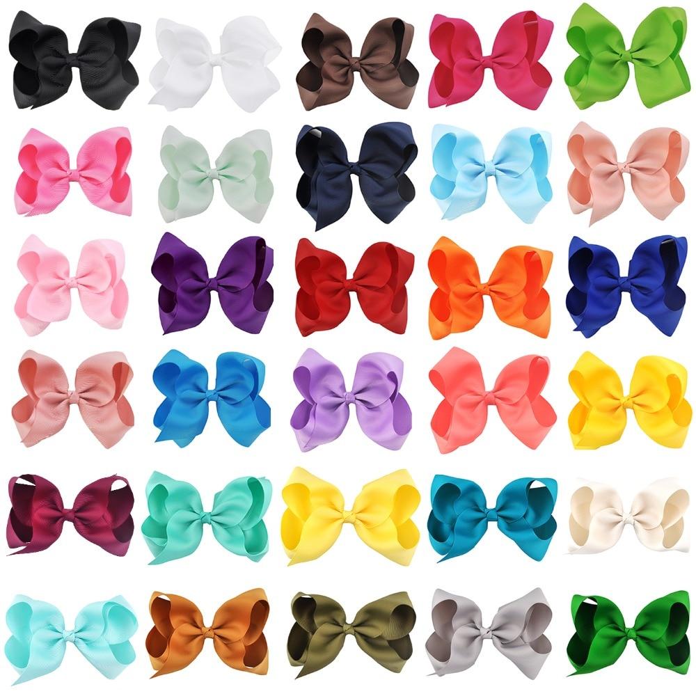 Mode 6 zoll Nette Boutique Grosgrain-Band Beugt Kinder Haarnadeln Kleines Mädchen Beugt Haar Clips Kinder Headwear Haar Zubehör