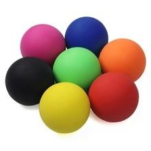 6 Cm Lacrosse Bal 100% Rubber Fitness Bal Hockey Effen Massage Bal Ontspanning Therapie Rehab Tool Full Body Massage