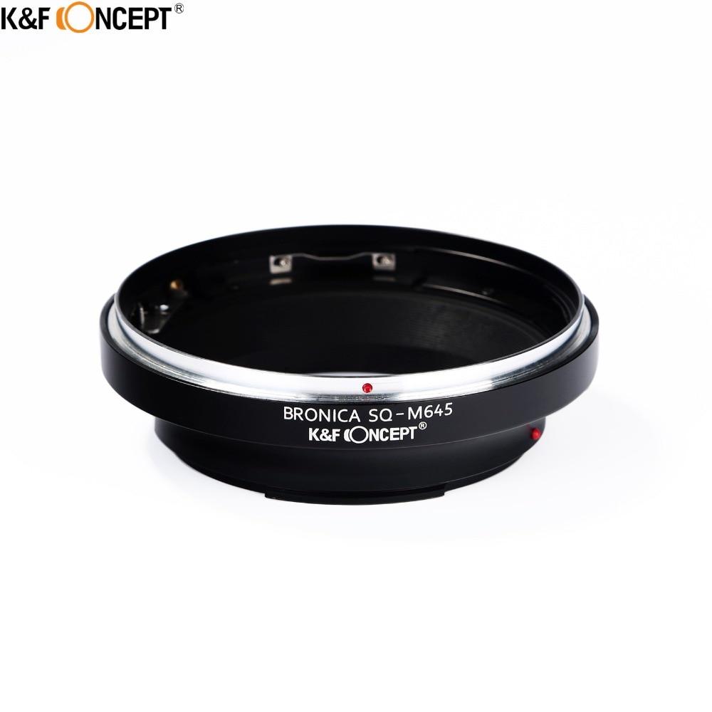 K & F CONCEPT кольцо-адаптер для объектива камеры для Bronica SQ объектив для Mamiya 645 корпус камеры для M645J, 645 Super, 645 Pro, 645AF