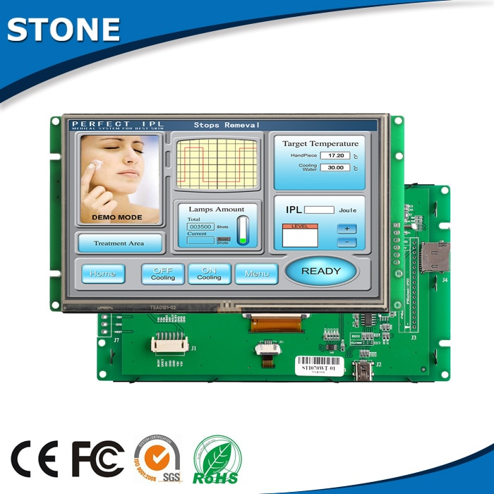 TFT LCD Industrial Panel 10.1 Inch