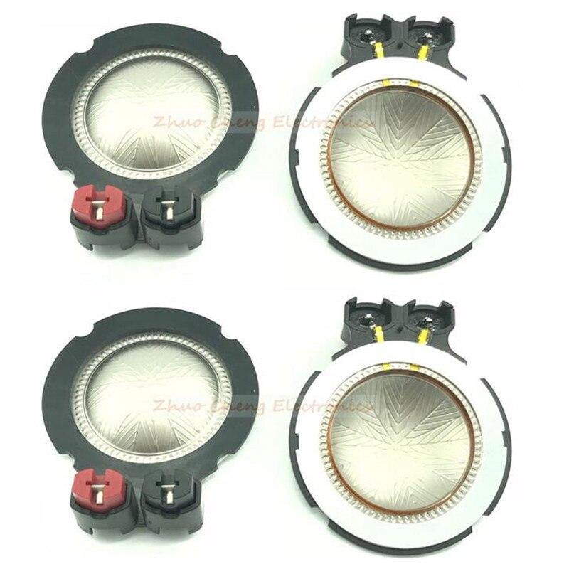 Diafragma de 44,4mm para Selenium D210Ti RPD210TI tweeters, Bobina de voz, 4 Uds. De repuesto de alta calidad