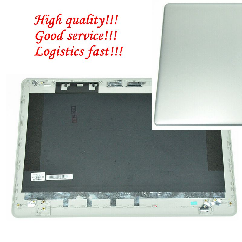 GZEELE nuevo para HP 17-ak 17-BS 17BS LCD cubierta trasera serie de tapa trasera plata LCD cubierta trasera montaje 926489-001 933291-001
