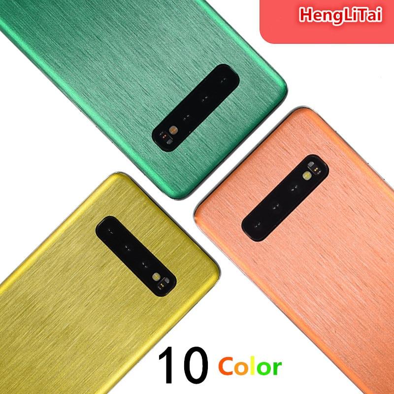 Para Samsung Galaxy S10 Plus/S10E/S9/S9 Plus/S8 Plus, película protectora de dibujo de cables, película protectora, película adhesiva para envolver