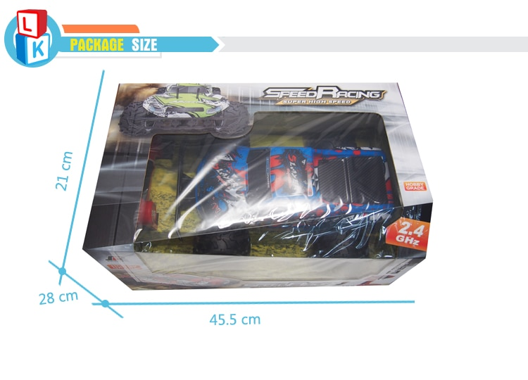 Cool Unique Graffiti Professional High Speed Remote Control Car Truck Toy Radio Control Racing Climbing Monster Car 1:12 Wltoys enlarge