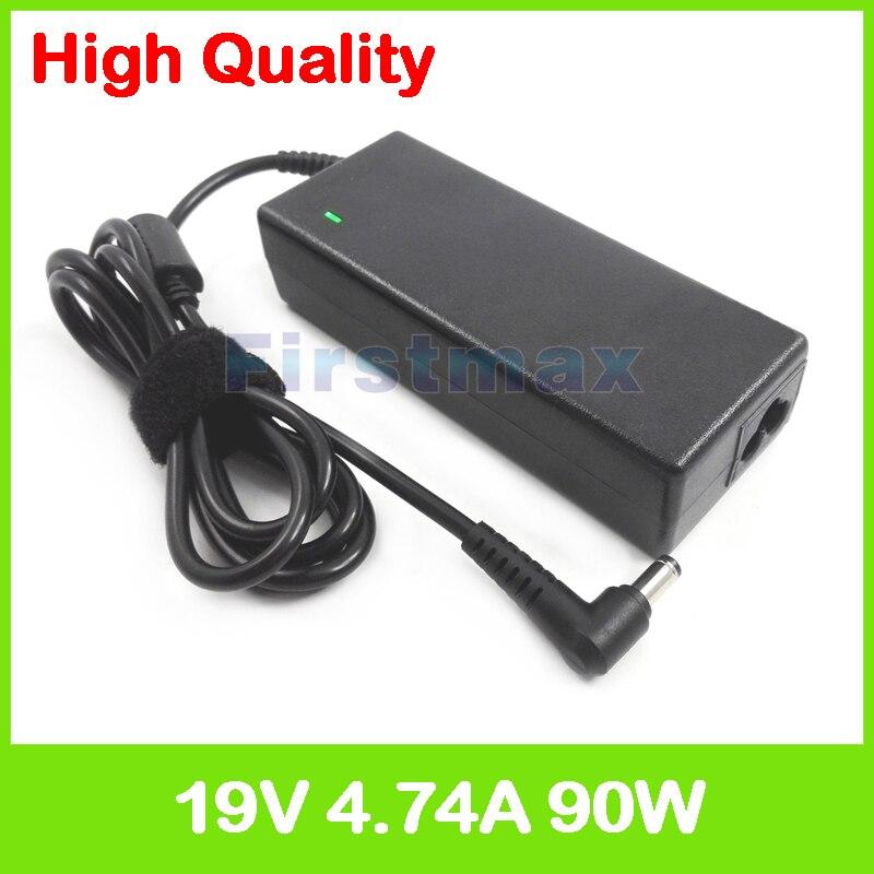 Adaptador de corriente CA de 19V, 4,74a, 90W, cargador de ordenador portátil para ASUS F7Se F7SR F7Z F85 F86 FX50J FX50JK FX50JX G1 G1S G1SN G2 G2K G2P G2PB