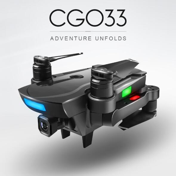 CG033 cuadricóptero FPV sin escobillas con cámara de cardán 1080P HD Wifi o sin cámara RC helicóptero Dron plegable GPS Dron regalo para niños