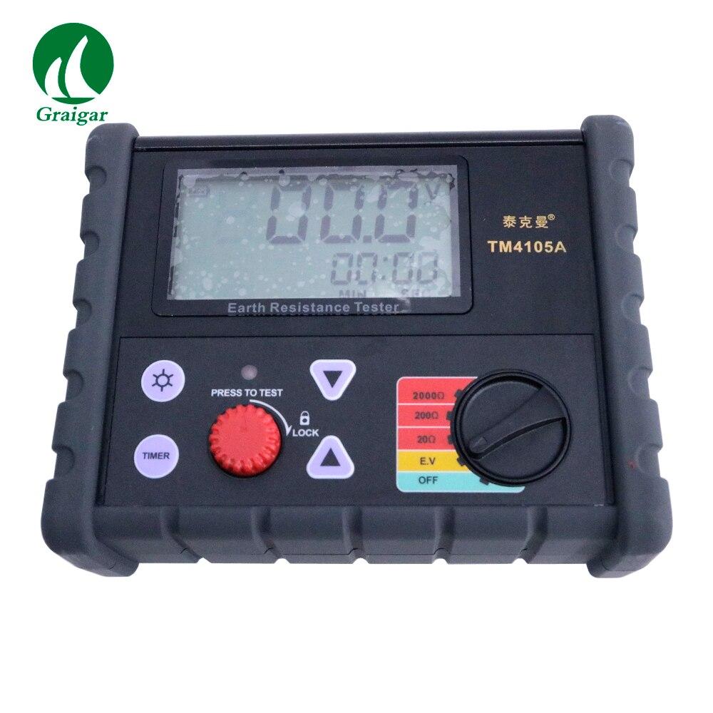 Digital Physical Resistance Tester TM4105A Ground Resistance Measurement Instrument